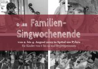 Weiterlesen: Familien-Singwochenende in Spital am Pyhrn
